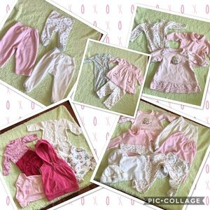 Other - 19 piece cool weather baby girl lot